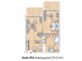 IRA Suites Sharing Pool - Royal Olympian