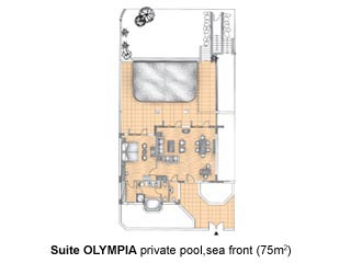 Olympia Suites - Private Pool - Royal Olympian