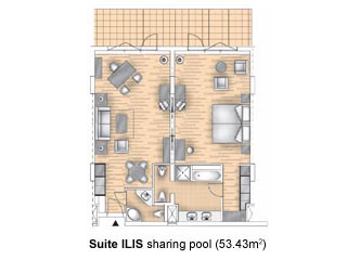 ILIS Suite Sharing Pool Suite - Royal Olympian